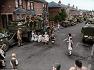 디 데이 전날 영국 남부에 집결한 미군의 대규모 군수물자와 어린이들의 줄넘기 US huge munitions & kids jump rope in south England before D day