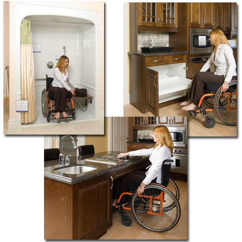Home Design Ideas For The Elderly: 배리어 프리와 유니버셜 디자인