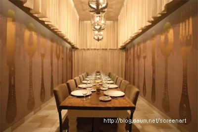 레스토랑인테리어 Restaurant Interior 스크린아트 Screenart