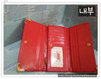 아지스 여성 장지갑!!!(색상:레드 / 가격:2만원)
