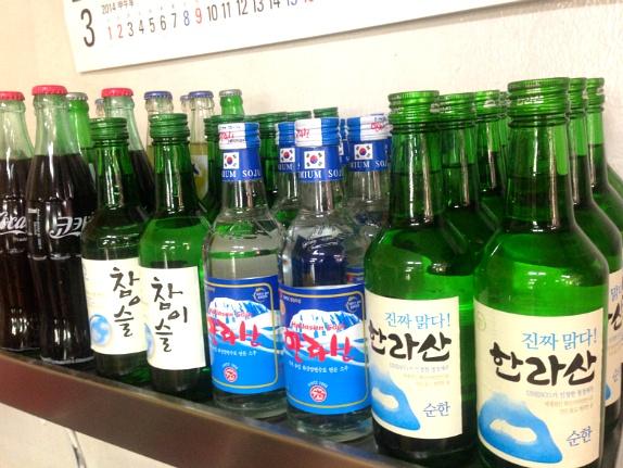 제주도>제주시>보건식당>땅콩막걸리