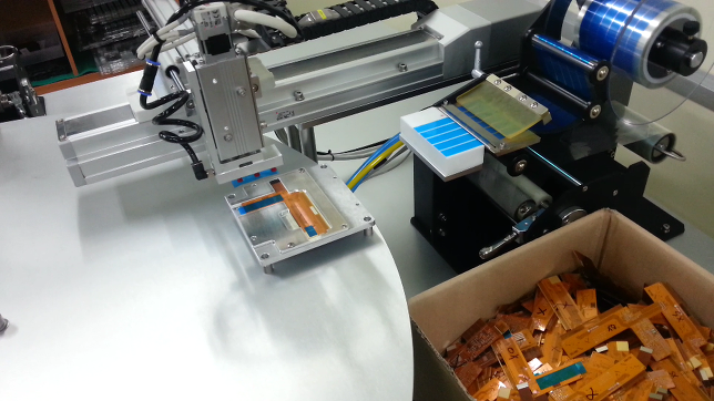 FPCB 스티커 자동화 기계 개발