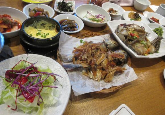 Gimpo Hansik / Gimpo Barley Gulbi Restaurant / Gimpo Namdo Ae Flower