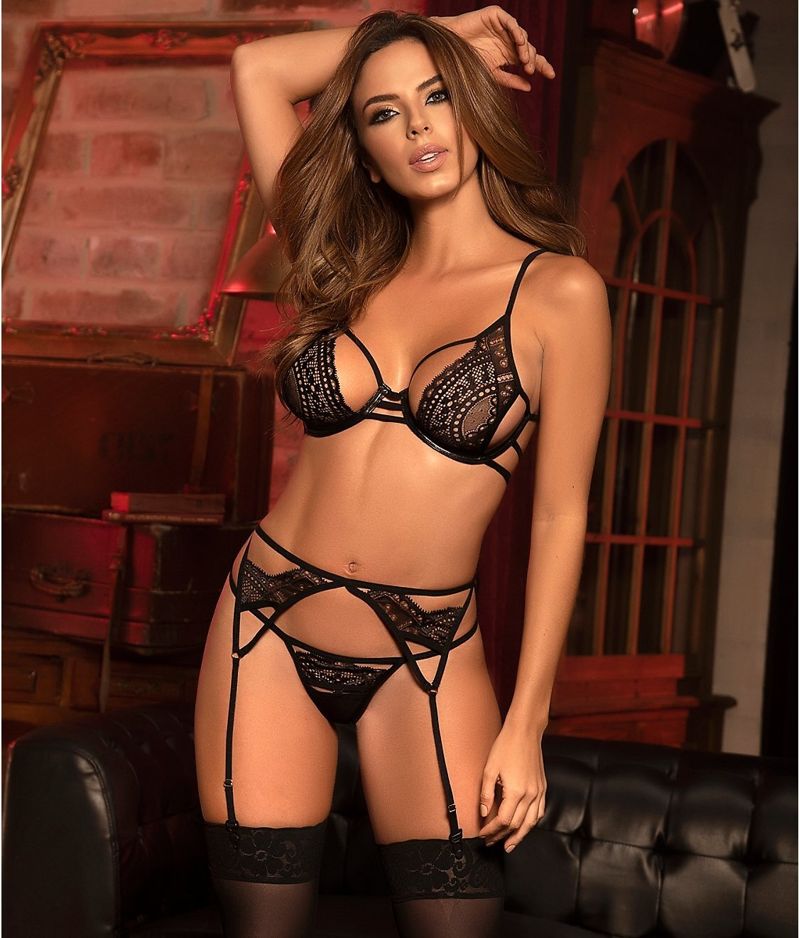gorgeous lingerie girl