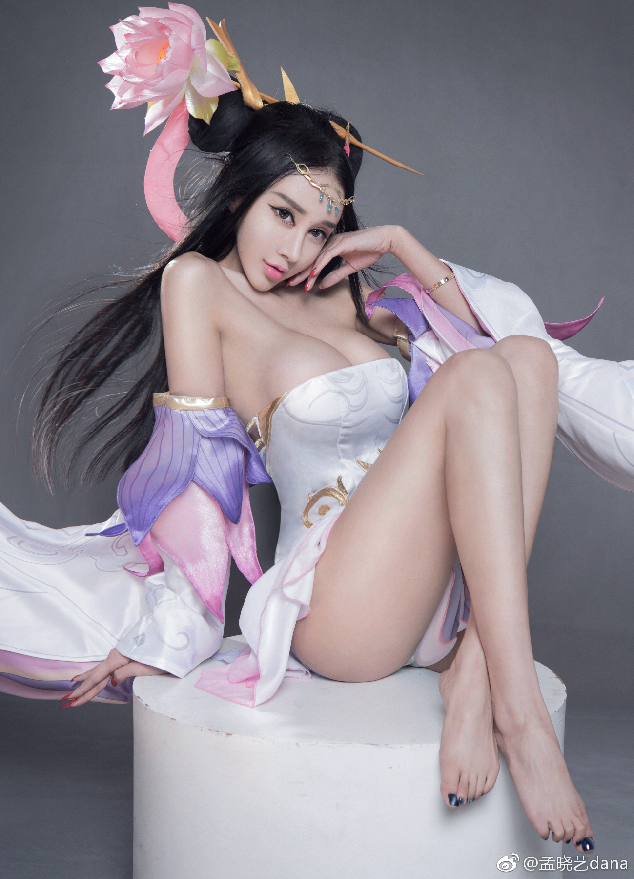 hot provocative Chinese girl